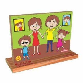 Puzzle Vertical - Família - Carimbras