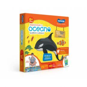 Quebra-Cabeça Grandão Explorando o Oceano - Toyster