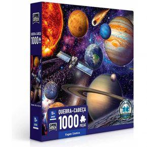 Quebra-Cabeça Viagem Cósmica - 1000 Peças - Toyster