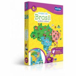 Quebra-Cabeça Mapa do Brasil - Toyster