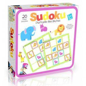 Sudoku Ilustrado dos Bichos Gigante - Bate Bumbo