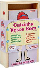 Caixinha Veste Bem Ela - Carimbras