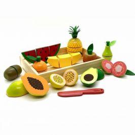 Coleção Comidinhas - Kit Completo Frutas com Corte - 11 peças  - NewArt