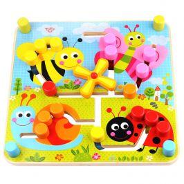 Labirinto Dupla Face - Tooky Toy