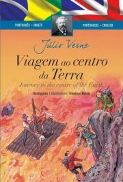 Livro Bilíngue - Viagem ao Centro da Terra - Ed. Ciranda Cultural
