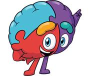 Mascote Big Cérebro