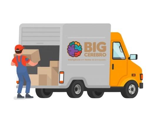 caminhão de entregas de vendas no atacado da Big Cérebro
